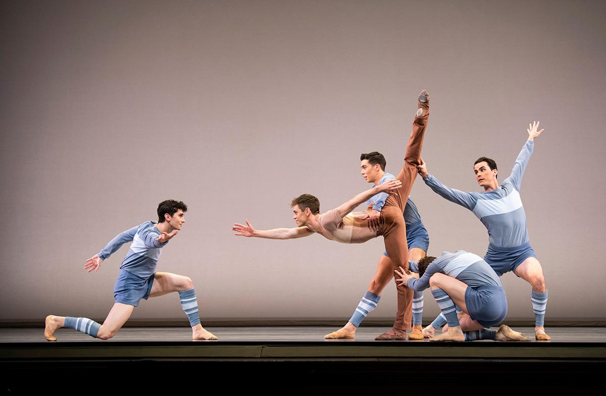 San Francisco Ballet in Peck's Rodeo: Four Dance Episodes.© Erik Tomasson. (Click image for larger version)