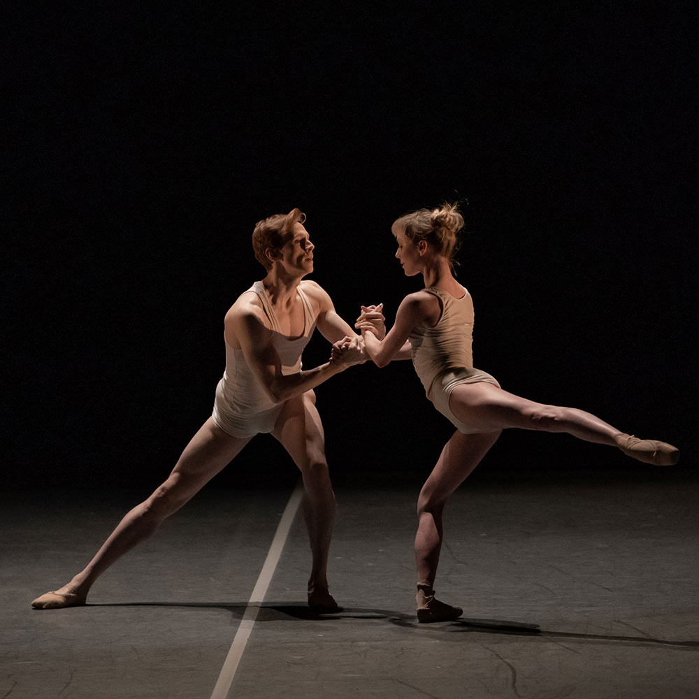 Sarah Lamb and Edward Watson in <I>Qualia</I>.<br />© Jack Devant. (Click image for larger version)