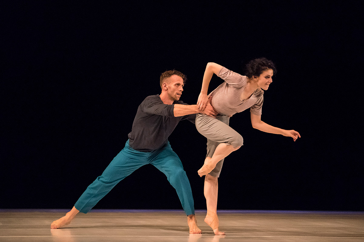 Natalia Osipova and Jason Kittelberger in Assaf's Six Years Later.© Johan Persson. (Click image for larger version)