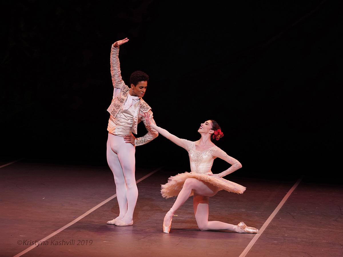 Yasmine Naghdi and Marcelino Sambe in <I>Don Quixote</I>.<br />© Kristyna Kashvili. (Click image for larger version)