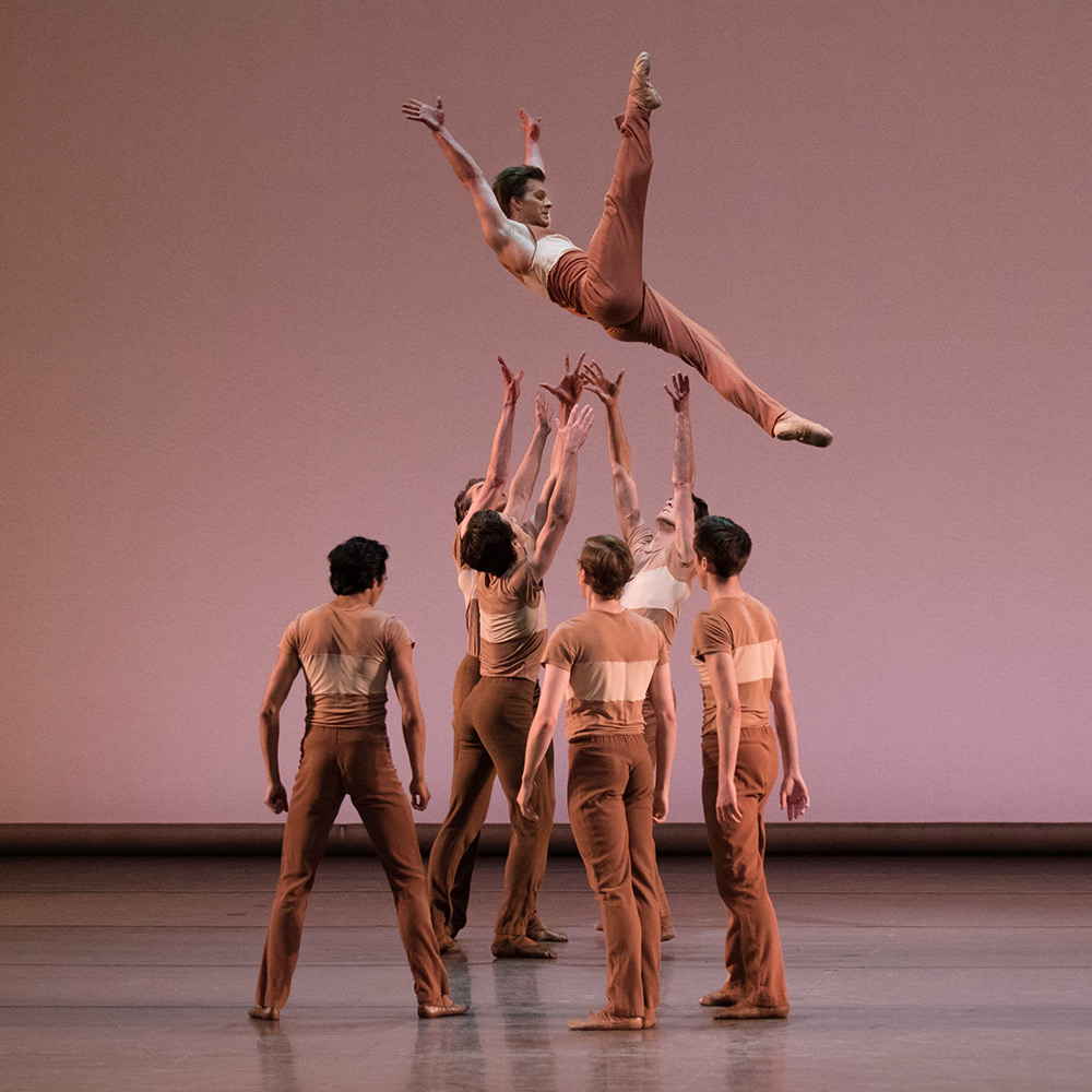 New York City Ballet in Justin Peck's Rodeo: Four Dance Episodes.© Paul Kolnik. (Click image for larger version)