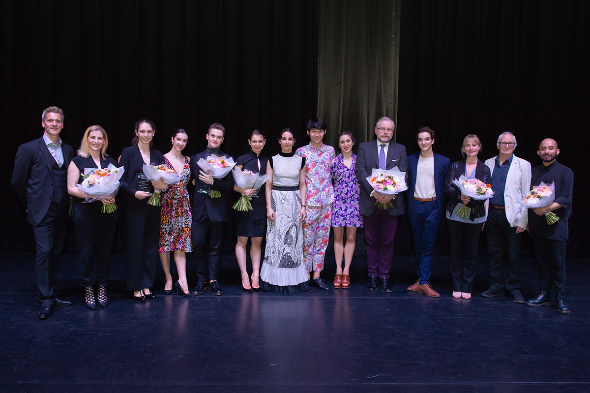 Emerging Dancer 2019 finalists, winners and judges.© ASH. (Click image for larger version)