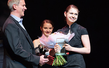 Julia Conway - Emerging Dancer Award winner.© ASH. (Click image for larger version)