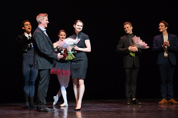 Julia Conway - Emerging Dancer Award winner.<br />© ASH. (Click image for larger version)