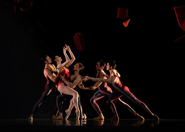 San Francisco Ballet in Ratmansky's <I>Concerto #1</I>.<br />© Erik Tomasson. (Click image for larger version)