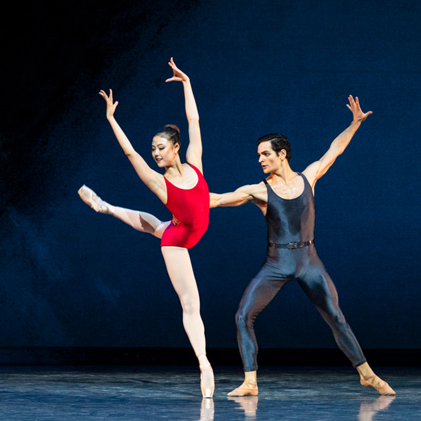 Wona Park and Angelo Greco in Piano Concerto #1.© Foteini Christofilopoulou. (Click image for larger version)