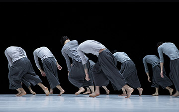 TAO Dance Theater in 9.© Fan Xi. (Click image for larger version)