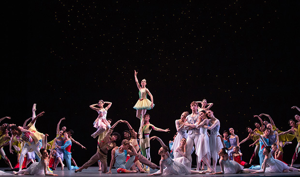 American Ballet Theatre in <I>The Seasons</I>.<br />© Marty Sohl. (Click image for larger version)