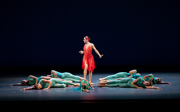 Megan LeCrone in Reisen's Judah.© Paul Kolnik. (Click image for larger version)