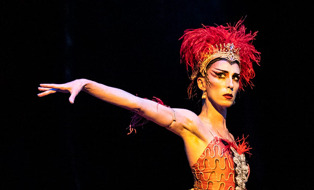 Itziar Mendizabal in <I>The Firebird</I>.<br />© Foteini Christofilopoulou, courtesy the Royal Opera House. (Click image for larger version)