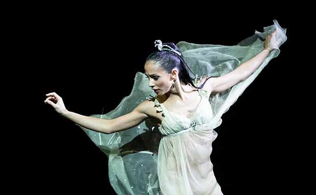 Francesca Hayward in Ondine.© Foteini Christofilopoulou, courtesy the Royal Opera House. (Click image for larger version)