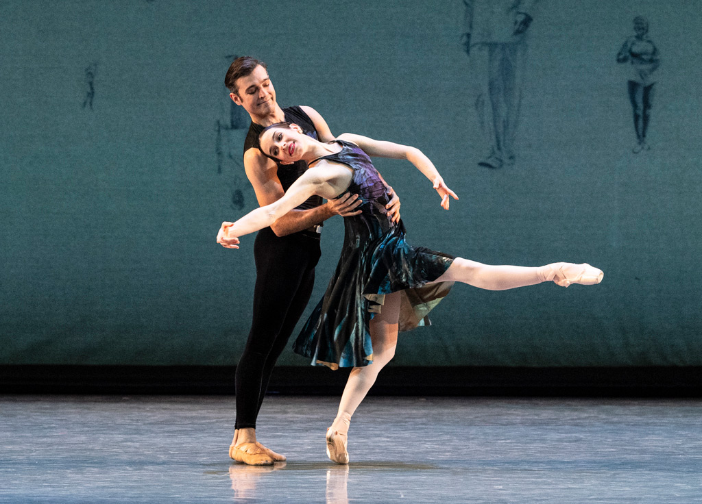 Julia Rowe and Diego Cruz in Symphony #9.© Foteini Christofilopoulou. (Click image for larger version)