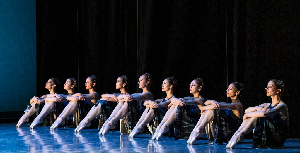 San Francisco Ballet in <I>Symphony #9</I>.<br />© Foteini Christofilopoulou. (Click image for larger version)