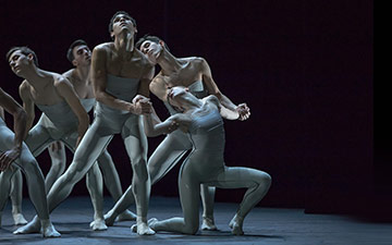 Junior Ballett Zürich in Wounded.© Gregory Batardon. (Click image for larger version)
