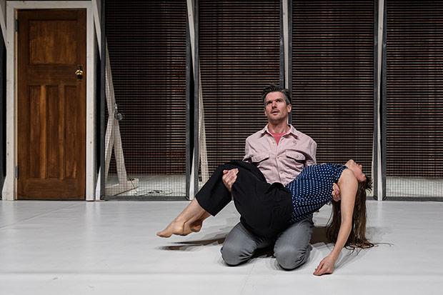 Ben Duke and Solene Weinachter in <I>Juliet & Romeo</I>.<br />© Jane Hobson. (Click image for larger version)
