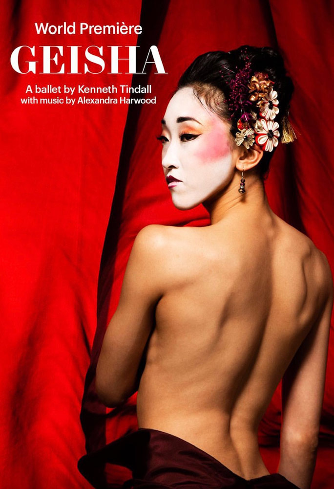 <I>Geisha</I> flyer.<br />© Northern Ballet. (Click image for larger version)