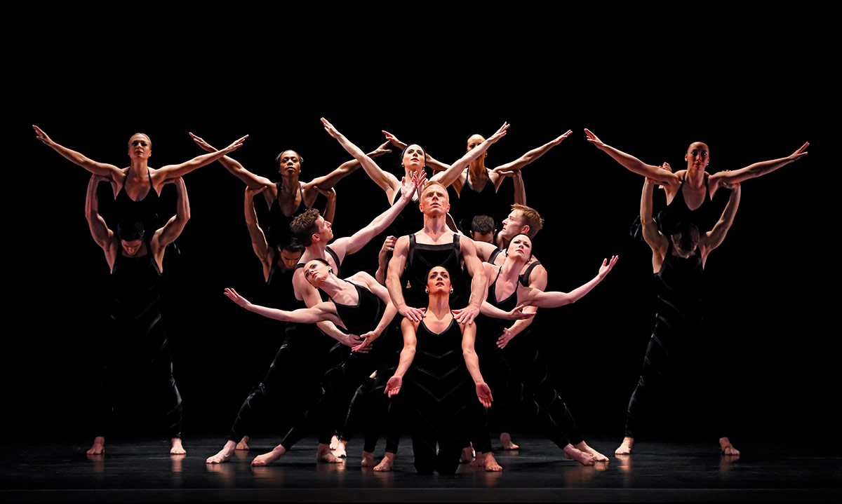 Paul Taylor Dance Company in Promethean Fire.© Paul B. Goode. (Click image for larger version)