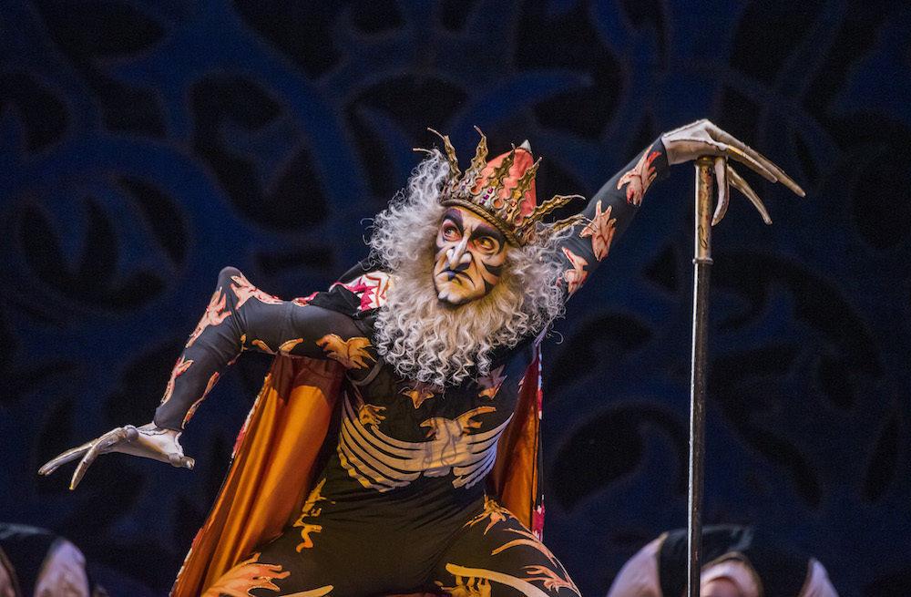 Gary Avis in The Firebird.© Tristram Kenton, courtesy the Royal Opera House. (Click image for larger version)