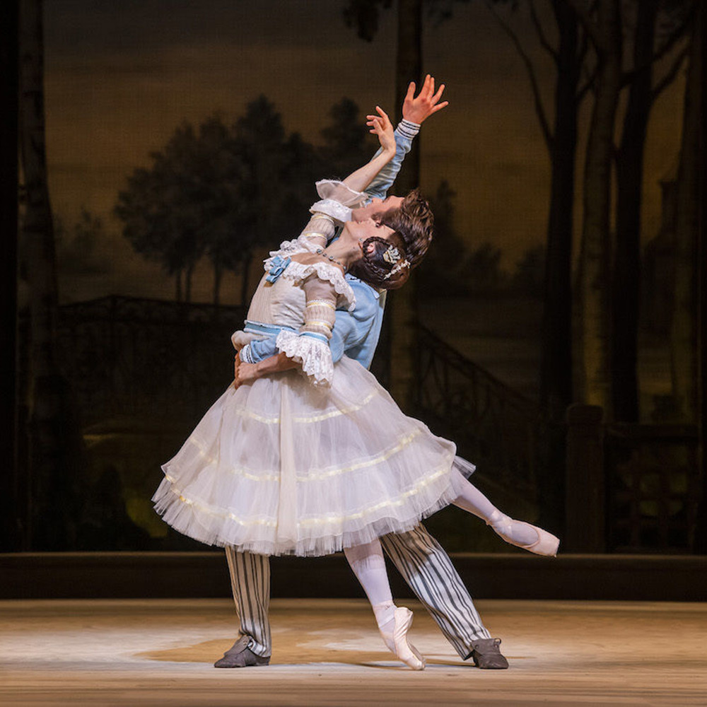 Marianela Nunez and Matthew Ball in A Month in the Country.© Tristram Kenton, courtesy the Royal Opera House. (Click image for larger version)