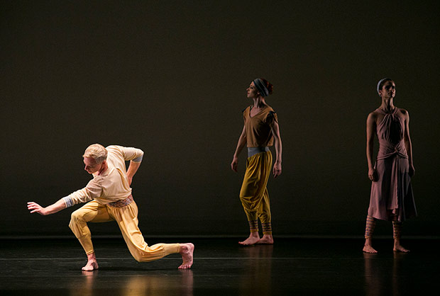 Michael Trusnovec, Heather McGinley and Maria Ambrose in <I>Rewilding</I>.<br />© Whitney Browne. (Click image for larger version)