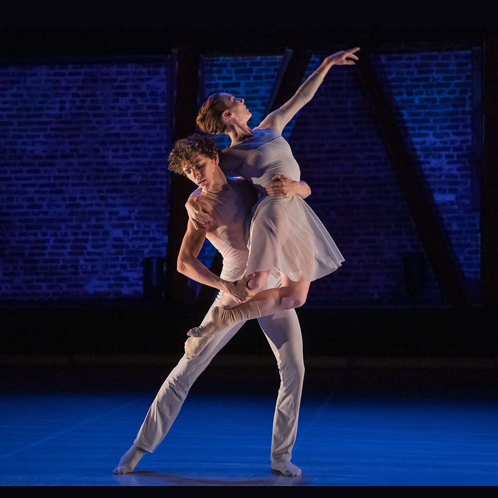 Austin Meiteen and Constanza Murphy in Martinez' Otra Vez, Otra Vez, Otra Vez.© Chris Hardy. (Click image for larger version)