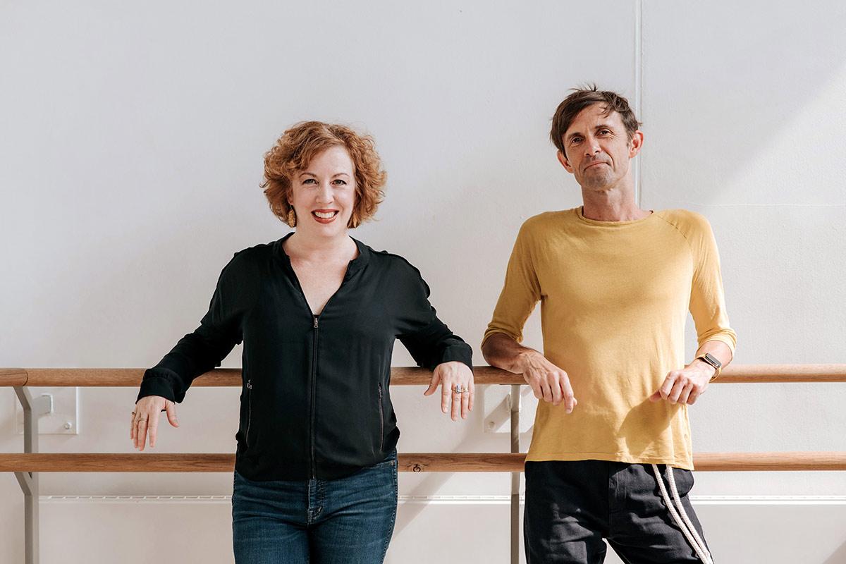 Helen Pickett and Artistic Collaborator James Bonas.© Mihaela Bodlovic. (Click image for larger version)