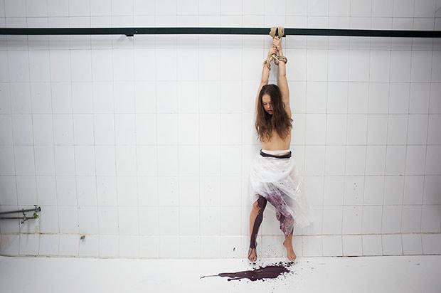 Rocio Molina in <I>Fallen From Heaven</I>.<br />© Pablo Guidali. (Click image for larger version)