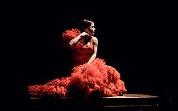 Olga Pericet.© Paco Villalta. (Click image for larger version)