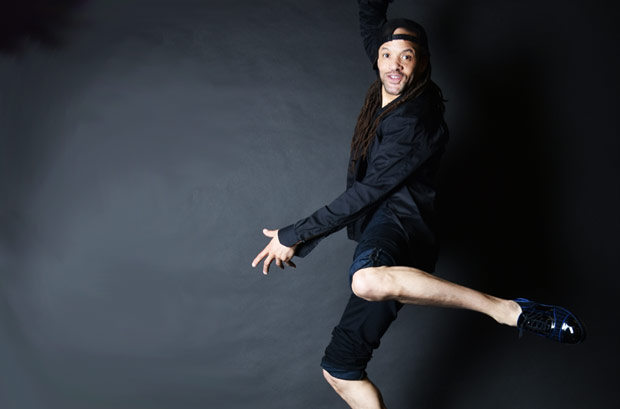 Savion Glover.<br />© and courtesy Savion Glover. (Click image for larger version)