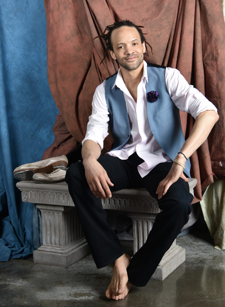Savion Glover.© and courtesy Savion Glover. (Click image for larger version)