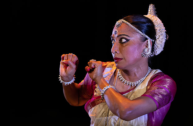Bijayini Satpathy in the <I>Kalpana</I> bill.<br />© Anubhava. (Click image for larger version)