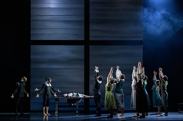 Scottish Ballet in Helen Pickett's <I>The Crucible</I>.<br />© Jane Hobson. (Click image for larger version)