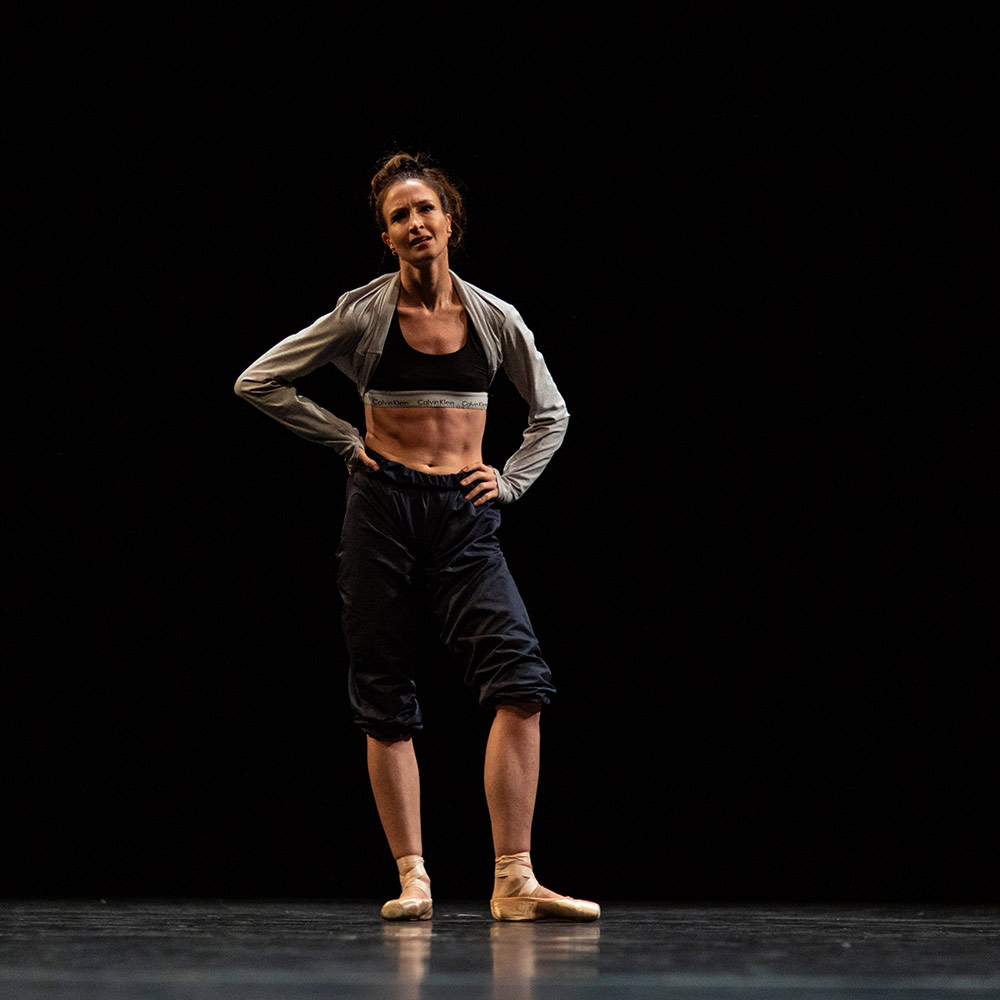 Lauren Cuthbertson in Jonathan Watkins' Darl.© Maria Baranova. (Click image for larger version)
