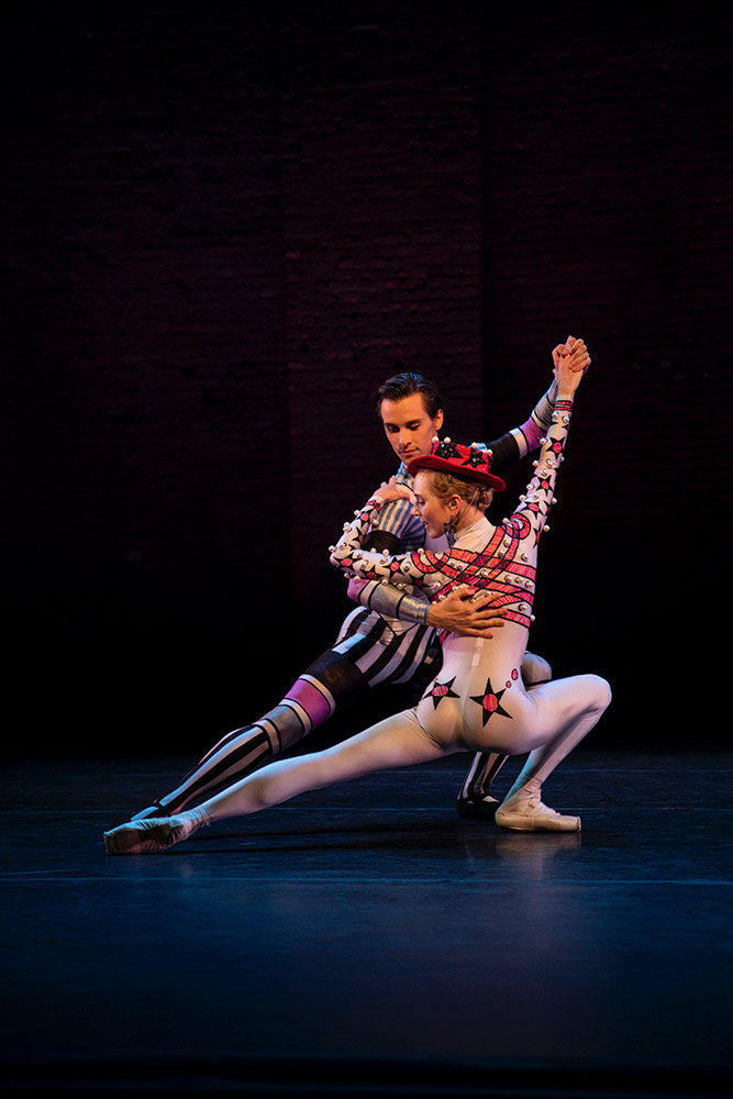 Calvin Richardson and Sarah Lamb in Kenneth Macmillian's <I>Elite Syncopations</I>.<br />© Maria Baranova. (Click image for larger version)