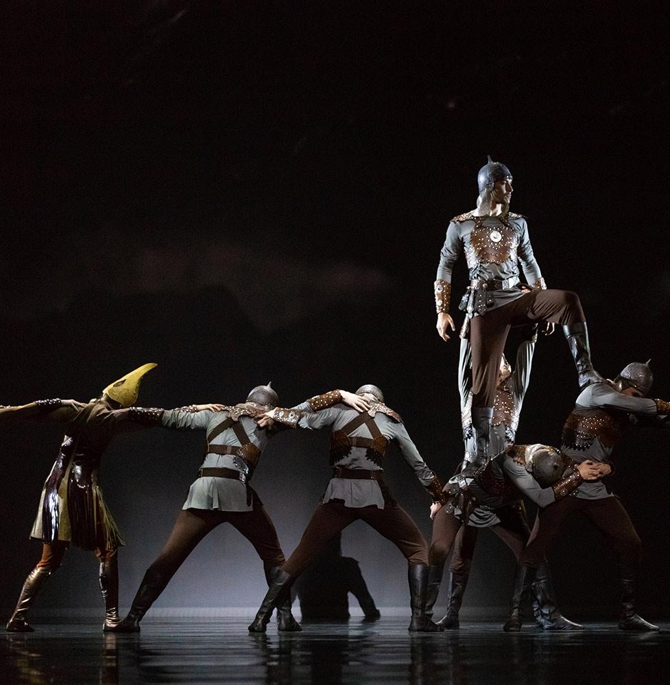 Astana Ballet in Salome.© Askhat Nurekin. (Click image for larger version)