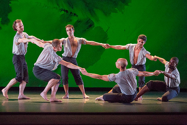 Mark Morris Dance Group in Mozart Dances.© Ken Friedman. (Click image for larger version)