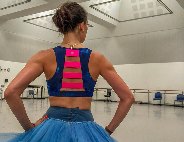Taken on my first day back in Scottish Ballet studios post surgeries.<br />© Araminta Wraith. (Click image for larger version)