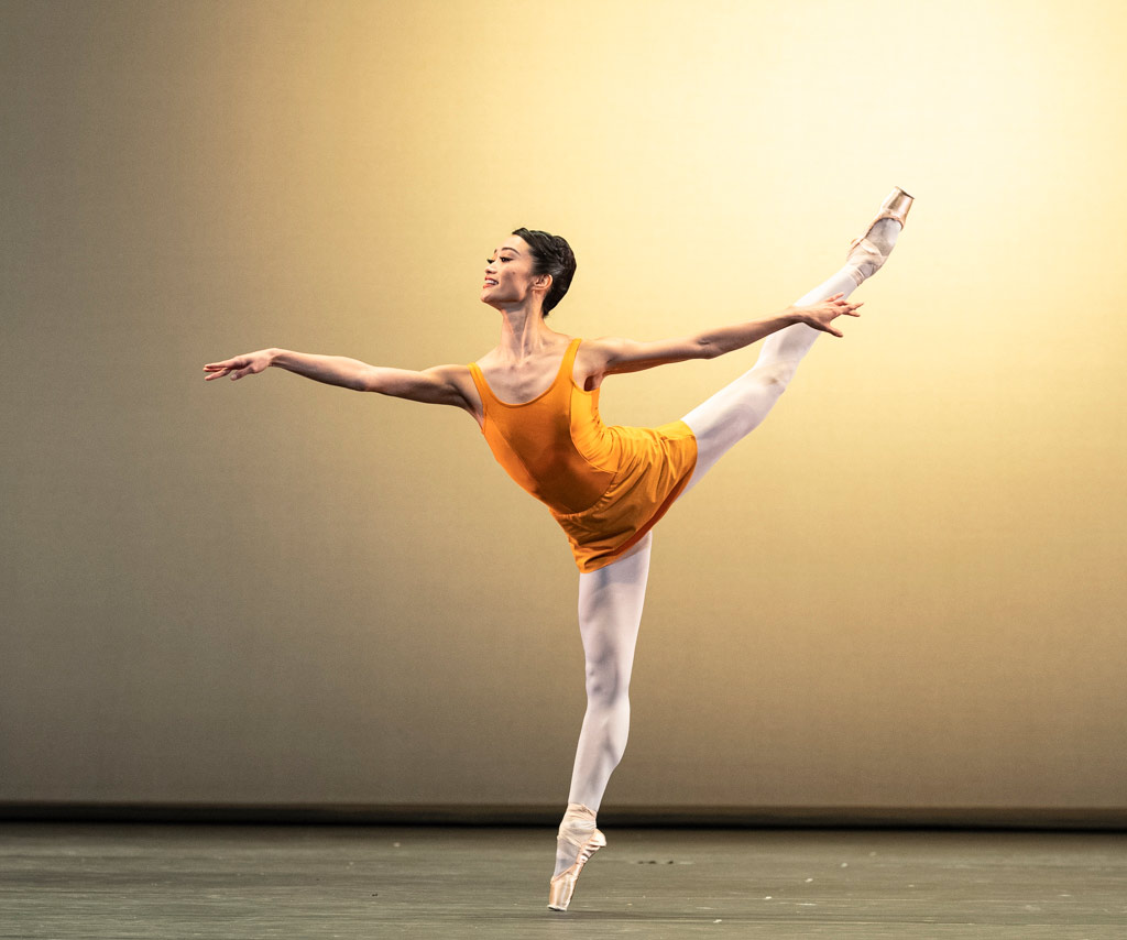 Fumi Kaneko in Concerto.© Foteini Christofilopoulou, courtesy the Royal Opera House. (Click image for larger version)