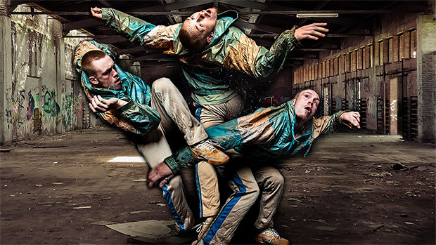 Publicity image for Gary Clarke Company in <I>Wasteland</I>.<br />© Joe Armitage. (Click image for larger version)