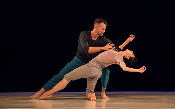 Natalia Osipova and Jason Kittelberger in Six Years Later.© Johan Persson. (Click image for larger version)