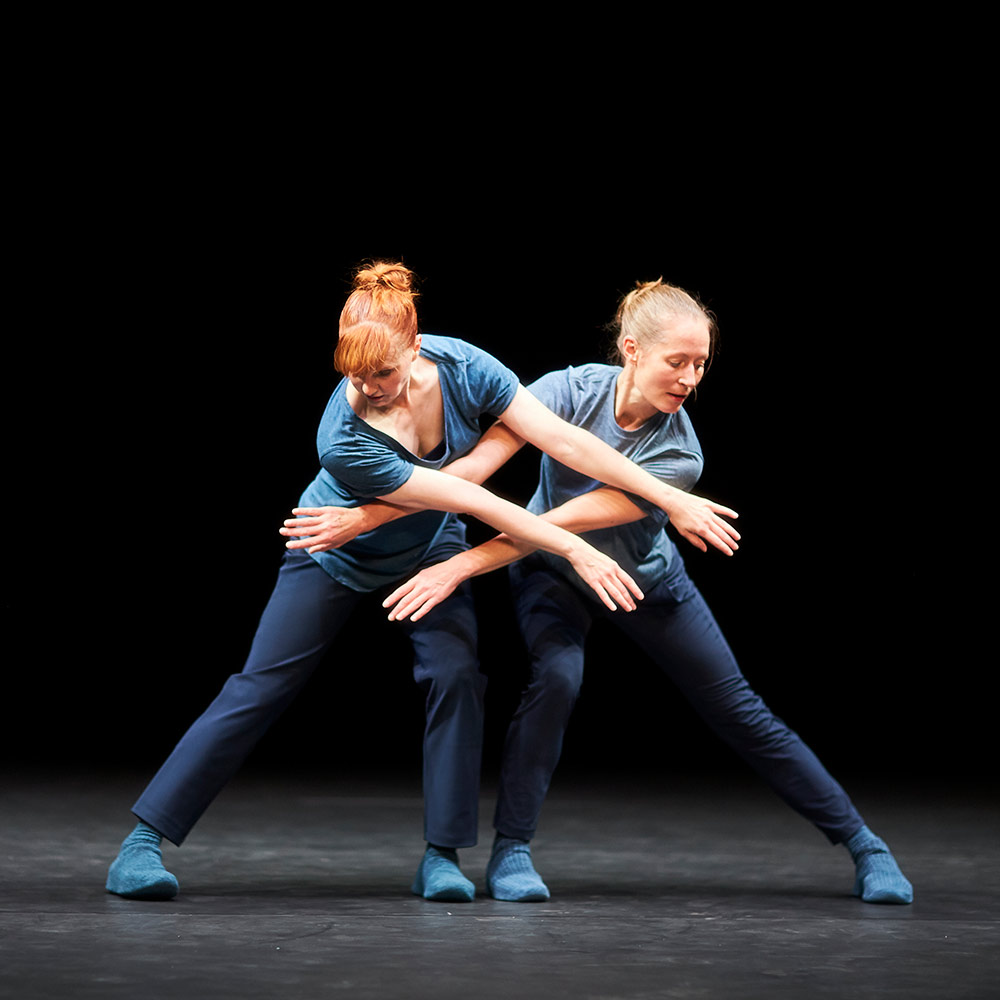 Jill Johnson and Brit Rodemund in <I>​A Quiet Evening of Dance</I>.<br />© Mohamed Sadek, courtesy The Shed. (Click image for larger version)
