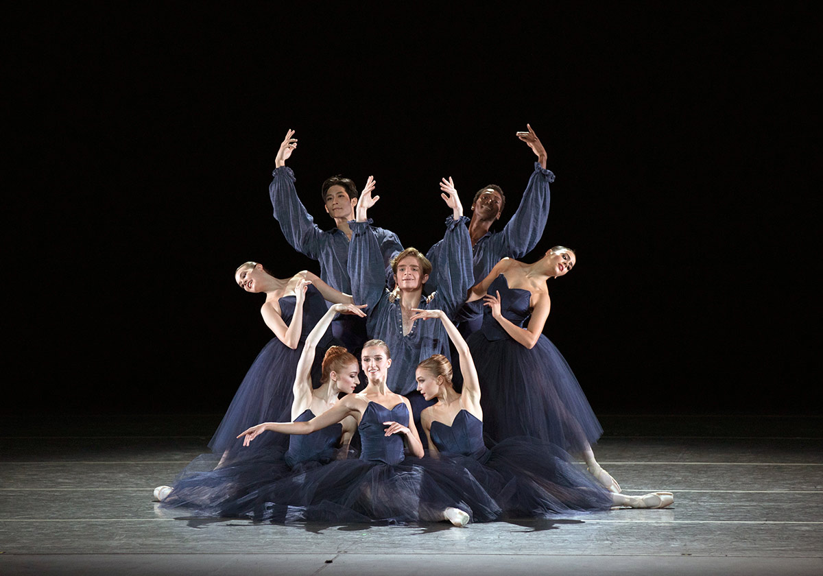 American Ballet Theatre in <I>New American Romance</I>.<br />© Rosalie O'Connor. (Click image for larger version)