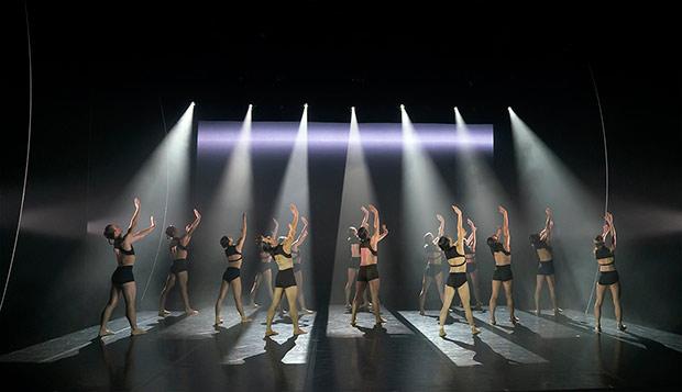 Northern Ballet in <I>The Shape of Sound</I><br />© Emma Kauldhar. (Click image for larger version)
