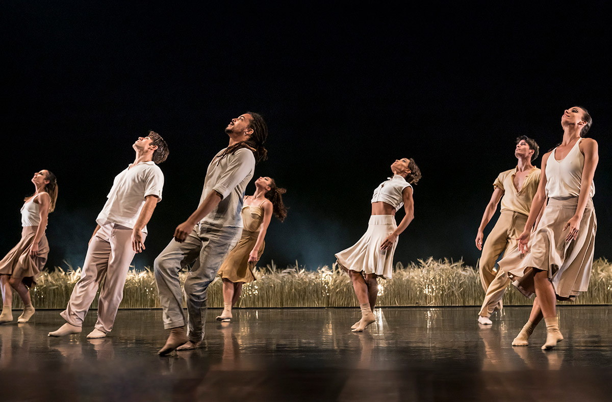 Acosta Danza in Paysage, Soudain, la nuit.© Johan Persson. (Click image for larger version)