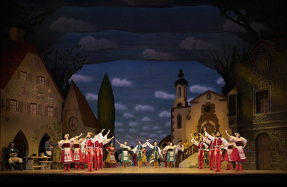 The Royal Ballet in Coppélia.© Bill Cooper, courtesy the Royal Opera House. (Click image for larger version)