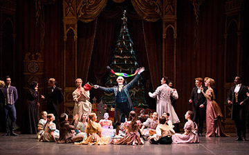 English National Ballet in The Nutcracker.© Laurent Liotardo. (Click image for larger version)