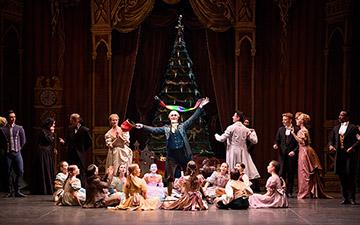 English National Ballet in The Nutcracker.© Laurent Liotardo. (Click image for larger version)
