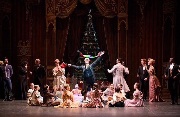 English National Ballet in <I>The Nutcracker</I>.<br />© Laurent Liotardo. (Click image for larger version)