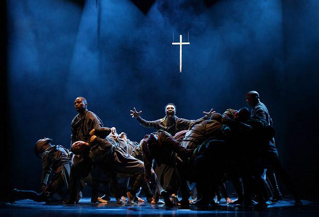 Vuyani Dance Theatre in <I>Cion: Requiem of Ravel's Boléro</I>.<br />© John Hogg. (Click image for larger version)