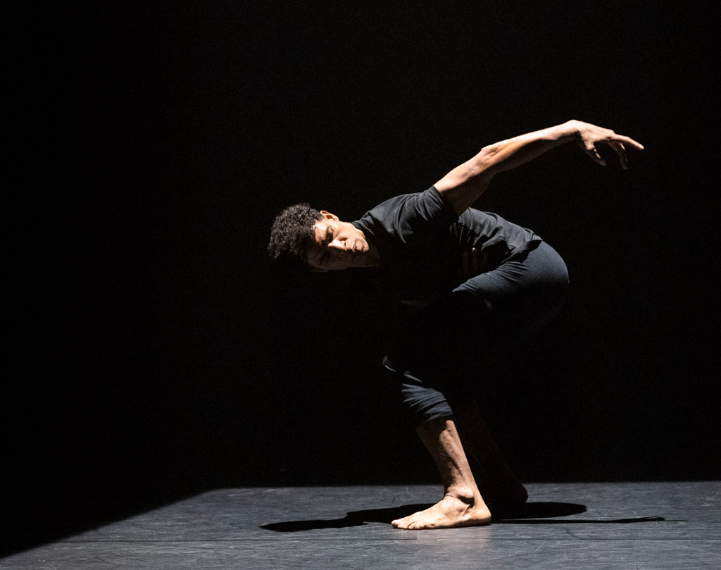 Carlos Acosta in Russell Maliphant's Two.© Foteini Christofilopoulou. (Click image for larger version)